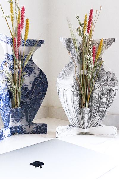 letterbox desk vase